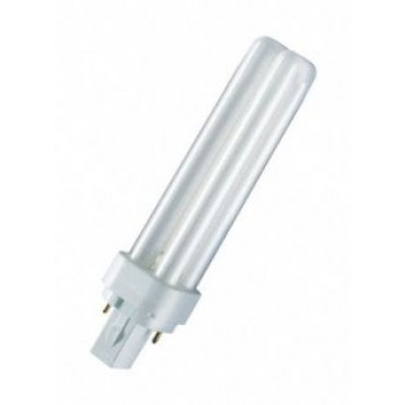Osram Compact Fluor DuluxD 18W 830 3000K 2-Pins G24D-2