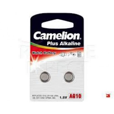 Camelion Batterij Knoopcel Lr1130 AG10 389 189 11.6x3.05mm Bls2
