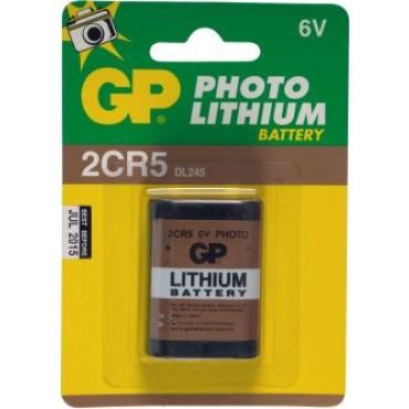 G.P Batterij Photo Lithium 2Cr5 6Volt