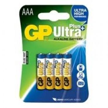 G.P Batterij Alkaline Ultra Lr03 Aaa 1.5V Mini Penlite Bls4