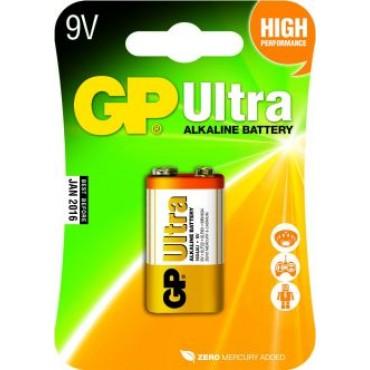 G.P Batterij Alkaline Ultra 9-V 1604Au