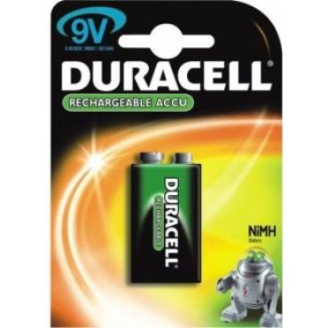 Duracell oplaadbaar NiMH Batterij 9V 170mAh blister van 1stuks