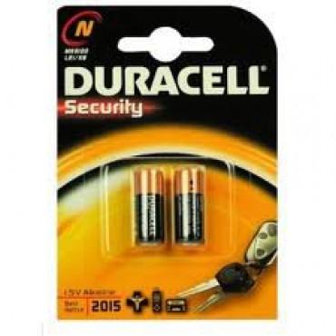 Duracell Batterij Alkaline Plus Power MN9100 LR1 Sleutelcel N Blister 2 stuks