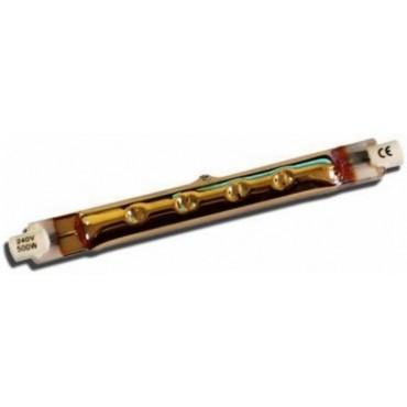 Euromac Warmtelamp 2-Kneeps Infrarood 500W R7S Ruby Slim 118mm P1500 64245032