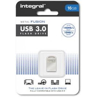 Integral Geheugen Usb Flash Drive 16Gb Metal Fusion USB 3.0