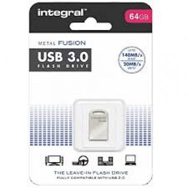 Integral Geheugen Usb Flash Drive 64Gb Metal Fusion USB 3.0