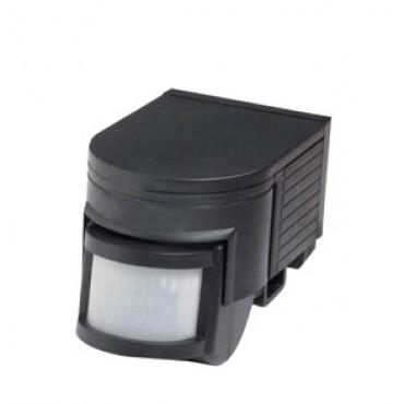 Robus Bewegingsmelder Opbouw 180graden PIR Sensor Zwart 10sec-10min R180