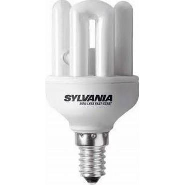 Sylvania Spaarlamp Faststar Stick 9W E14 840