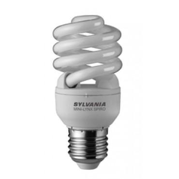 Sylvania Spaarlamp MINI-LYNX FAST START SPIRO 827 E27 15W 0035215 104x45mm