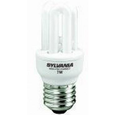 Sylvania Spaarlamp MINI-LYNX COMPACT FAST-START MLX FS T2 9W 827 E27 0031025