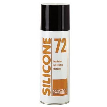Kontakt Chemie Silicone 72 Isolerend Smeermiddel 200mL 73509
