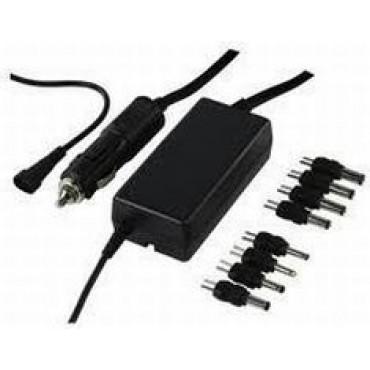 Adaptor Notebook Universeel 24VDC > 12, 13, 14, 15, 16, 17, 18, 19, 20, 21, 22V DC pluggen 2,5/12 - 3,5/15 - 5,5x2,5 - 5x2,1 - 4x1,7 - 3,5x1