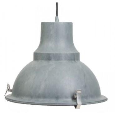 Steinhauer Hanglamp 5798GR Parade grijs E27 fitting 1x75watt 40x150cm