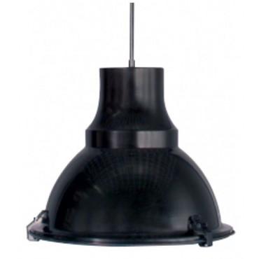 Steinhauer Hanglamp 5798ZW Parade zwart E27 fitting 1x75watt 40x150cm
