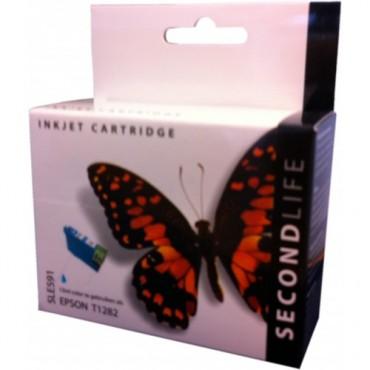 Secondlife Cartridge Epson SLE591 Epson 1282 Cyan 13ml C13T12824010 11411022
