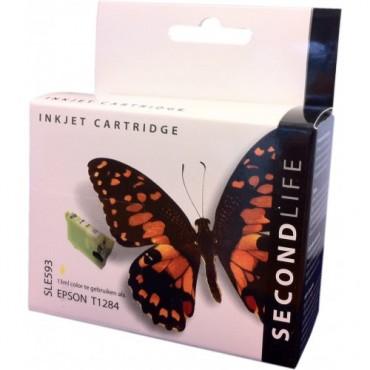 Secondlife Cartridge Epson SLE593 Epson 1284 Yellow 13ml C13T12844010 11411024