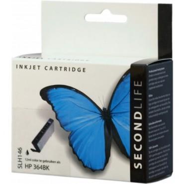 Secondlife Cartridge HP SLH146 Bk HP 364 XL Black CB316EE 20ml 11111171
