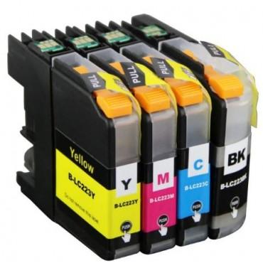 Second Life Cartridge Multipack Brother 223 BK, C, M en Y 11511159
