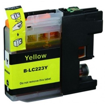 Secondlife Inkt Cartridge Brother LC 223 Y 10mL Yellow LC223Y 11511154