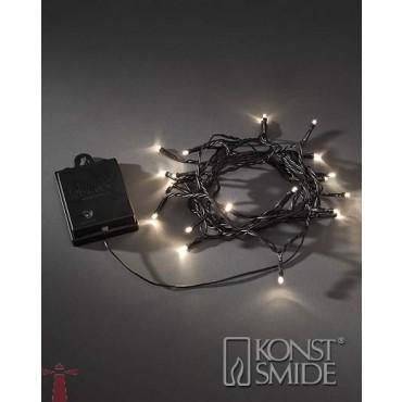 Konstsmide Kerstverlichting Op Batterij 40-Lichts Met Sensor 3724-100