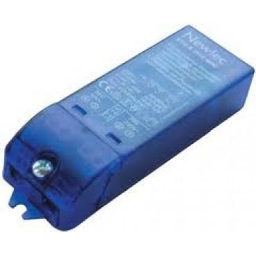 Relco Halogeenlamp Trafo Recht 10-60W Rn1602 60Pfs Aan Afsnij 145x39x28M