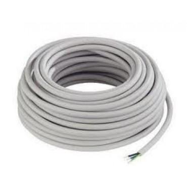 VMVL Kabel 3x2.5mm2 Wit rol van 100meter H05Vv-F