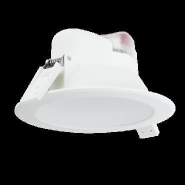 Aigostar LED Inbouw Spot DownLighter Wave 7w Incl. driver IP44 4000K 560lm 90graden niet dimbaar gatmaat 75mm