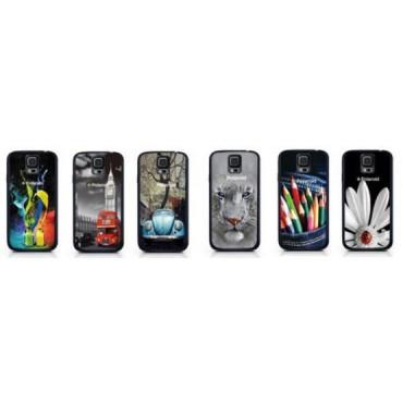 Polaroid Samsung Hoes 22301 Galaxy S5 3D 6 Stuks Assortie