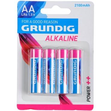Grundig Batterij Alkaline LR06 AA 1.5V 2100mAh Bls4