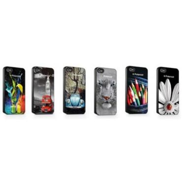 Polaroid Apple Iphone5/5S Hoes 98548 3D 6 Stuks Assortie