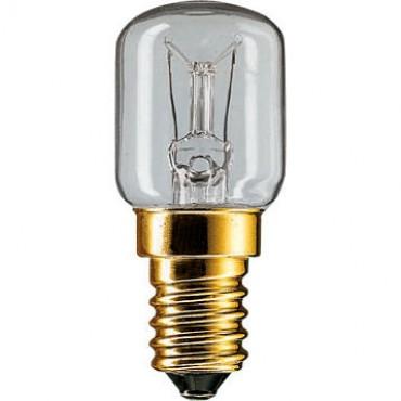Philips Gloeilamp Schakelbordlamp Ovenlamp 25W E14 Helder Parfumlamp 300Gr 25x57mm