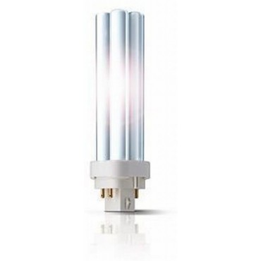 Philips Compact Fluor Plc 18W 827 2700K 4-Pins G24Q-2 Extra Warmwit