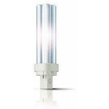 Philips Compact Fluor Plc 13W 865 6500K 2-Pins G24D-1 Daglicht