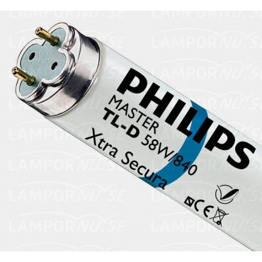 Philips Fluorbuis TLD TL8 58W 840 4000K G13 Xtra Secura