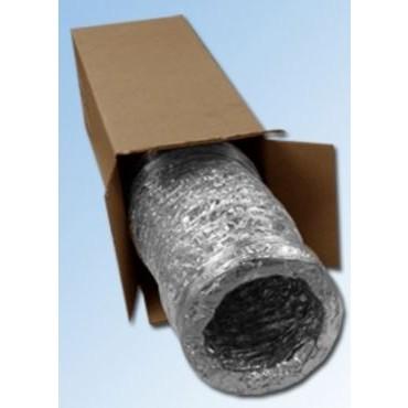 DPS Afzuigkap Flexibele Afvoerslang Aluminium 150mm 3.0mtr 511310A DHZ Verpakt in plastic zak met ophangoog.