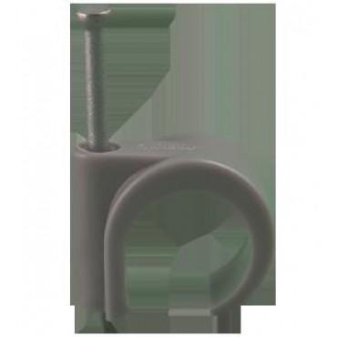 Mepac Snoerclip Spijkerclip 16 tot en met 19mm grijs DS100St en Prijs P/St 421315