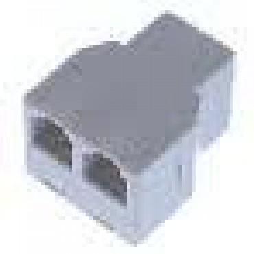 Blueline Isdn 7187V Modulair Adaptor 1 X Male 2 X Female Rj45 8P8C
