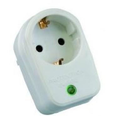 Greenline Enkel Overspanningsbeveiliger met RA en controle lamp