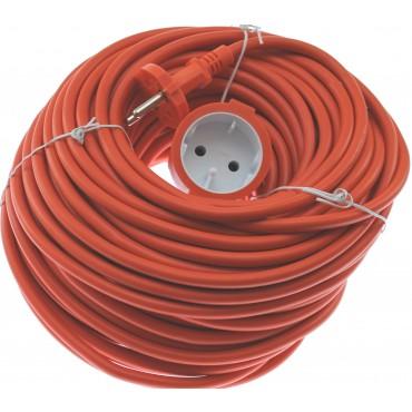 Tuinkabel Tuinsnoer 2X1.0Mm 33.0Mtr Oranje