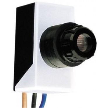 Klemko Inbouw Schemerschakelaar 6A lux instelbaar 5-300Lux 820010  IB-06 IP55 50x26x24mm inbouwdiameter 16mm