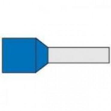 Klemko Adereindhuls Geisoleerd G489 Blauw 0.75Mm Zak per 500stuks