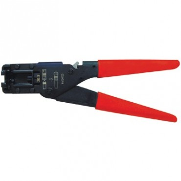 Klemko Krimptang SKT-F-WD-CONN 904020 Voor F-connectoren Coax 12  RG59
