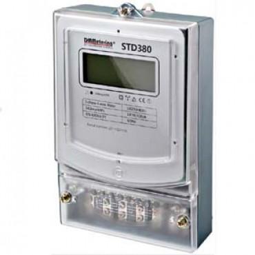 Dmm Kilowattuurmtr Kwh 3-Fase Std380 Opbouw Digitaal 230/400V 100Amp 240Imp/Kwh