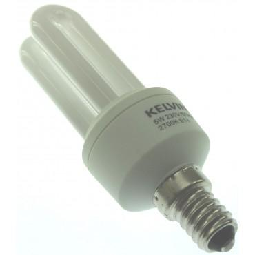Kelvin Spaarlamp Mini Stick 5W E14 2700K