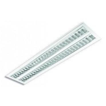 Inbouwarmatuur TL5 AL906 2x28W MAT DP HF Incl TL5 28W/830 GST18/3