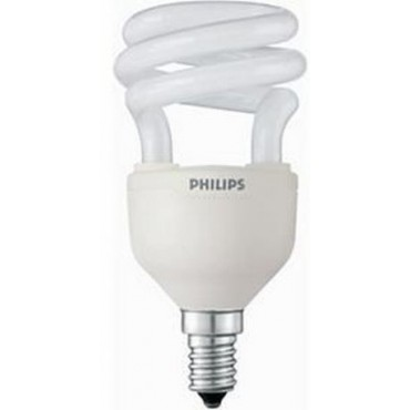 Philips Spaarlamp Tornado 8W E14 Esaver 2700K 96,5x47,5mm