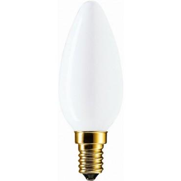 Marine Gloeilamp Kaarslamp 60W E14 Softone Opaal
