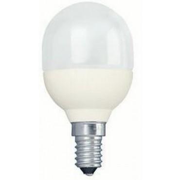 Philips Spaarlamp Kogellamp 8W E14 Softone T45
