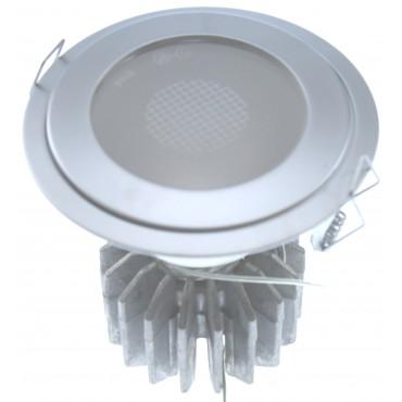 Oscaluz Arkos Uni Inbouwspot 76148 Ip44 Max 50W 0291 Chroom Mat