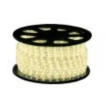 Tronix Lichtslang Led 240V Crystal Clear Warmwit 51meter IP44 13mm Incl.Stekker